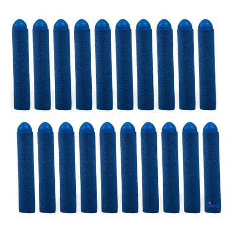 Dimple DC12656 20 Pc Set Foam Toy Dart, Refill Pack Blue