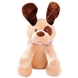 Dimple DC12697 Didi Dog Animated Plush Singing Dog with Peek-a-boo Interactive Feature