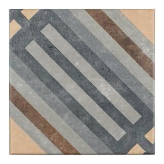 SomerTile 7x7-inch Europa Rail Porcelain Floor and Wall Tile (30 tiles/10.95 sqft.)