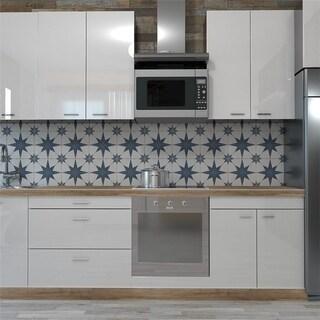 SomerTile 9.75x9.75-inch Cilento Azul Porcelain Floor and Wall Tile (16 tiles/10.76 sqft.)