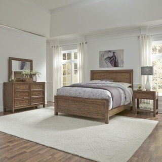 Sedona Queen Bed, Night Stand, Dresser and Mirror
