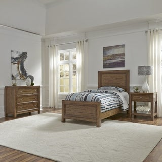 Sedona Twin Bed, Night Stand and Chest