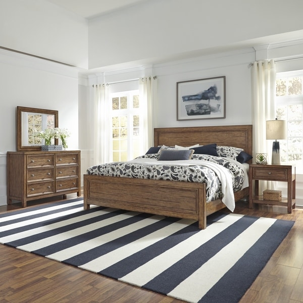 Sedona King Bed, Night Stand, Dresser and Mirror