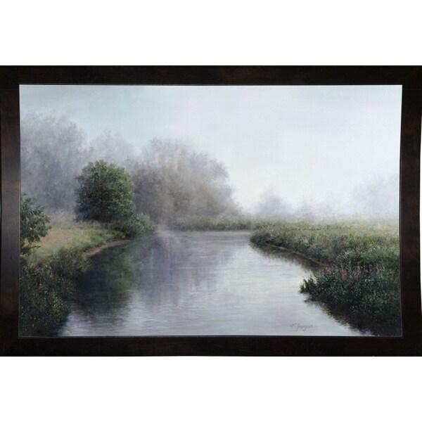 "Foggy River-KATTHO51903 Print 26""x39"" by Kathie Thompson"
