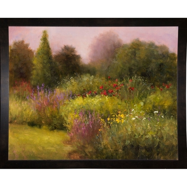 """In The Garden, Manchester-KATTHO120802 Print 24.75""""x31"""" by Kathie Thompson"""