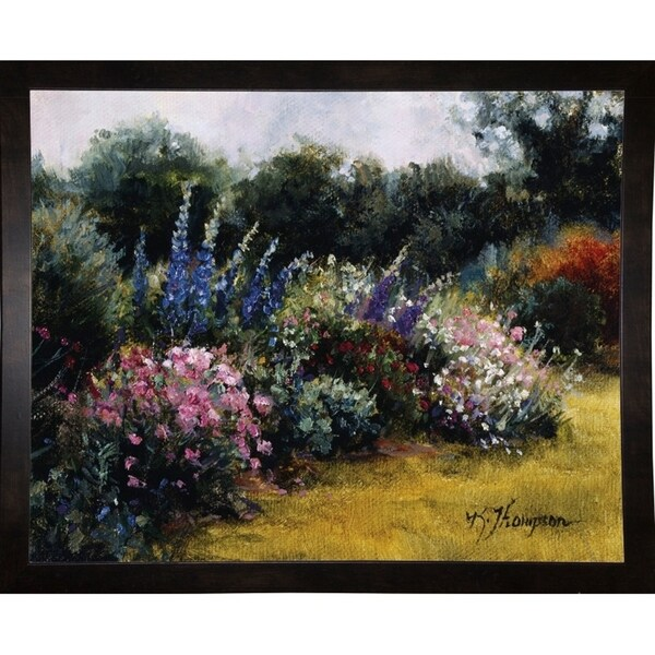 "Gardens At Equinox Nursery-KATTHO38966 Print 24""x30"" by Kathie Thompson"