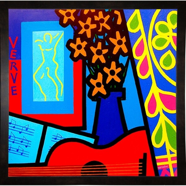 "Still Life With Matisses Verve-JOHNOL125609 Print 6.75""x6.75"" by John Nolan"
