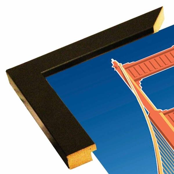 "Golden Gate-LARHUN127999 Print 36""x16"" by Larry Hunter"