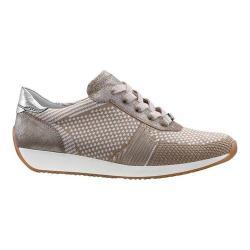 Women's ara Lilly 34027 Sneaker Beige Woven