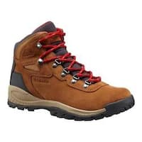 Women's Columbia Newton Ridge Plus Waterproof Hiking Boot Elk/Mountain Red