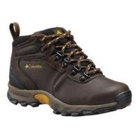 Children's Columbia Newton Ridge Youth Hiking Boot Cordovan/Golden Yellow