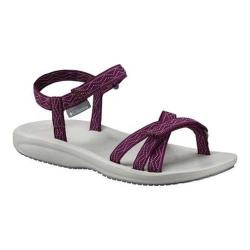 Women's Columbia Wave Train Active Sandal Dark Raspberry/White