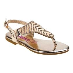 Girls' Kensie Girl KG75125M Thong Sandal Gold