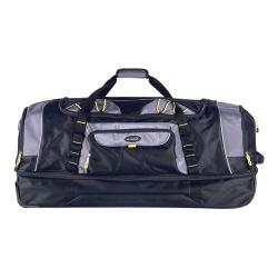 Travelers Club Sierra Madre 30in 2-Section Large Sports Duffel Black/Gray