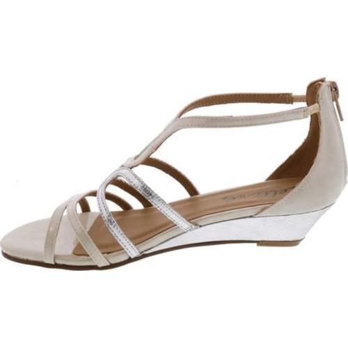 345592f8bb8a9 ... Thumbnail Women  x27 s Bellini Gwen Strappy Wedge Sandal White  Polyurethane
