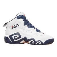 Men's Fila MB Basketball Shoe Black/Fila Red/White