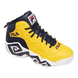 Men's Fila MB Basketball Shoe Gold Fusion/Fila Navy/White (5 options available)