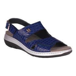 Women's Helle Comfort Janette Slingback Sandal Navy Leather