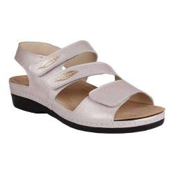 Women's Helle Comfort Thao Strappy Sandal Taupe Leather