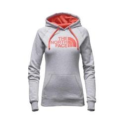 Women's The North Face Half Dome Hoodie TNF Light Grey Heather/Bright Coral