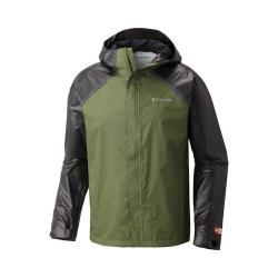 Men's Columbia OutDry Hybrid Jacket Mosstone/Black
