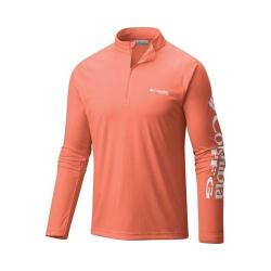 Men's Columbia Terminal Tackle 1/4 Zip Bright Peach (2 options available)