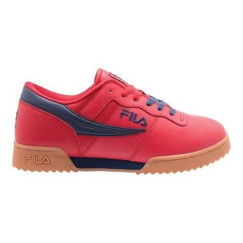 d12edef3954f Shop Men s Fila Original Fitness Ripple Sneaker Fila Red Fila Navy Gum -  Free Shipping Today - Overstock - 20561524
