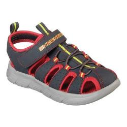 Boys' Skechers C-Flex Fisherman Sandal Charcoal/Red