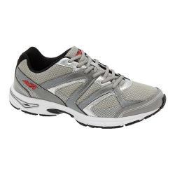 Men's Avia AVI-Execute II Running Shoe Chrome Silver/Frost Grey/Black