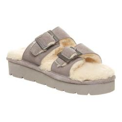 Women's Bearpaw Gianna Slide Dove Grey Wool
