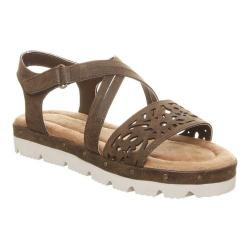 Girls' Bearpaw Jane Strappy Sandal Dark Brown Faux Leather (5 options available)