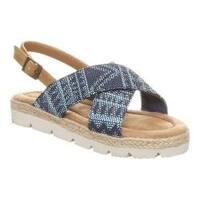 Girls' Bearpaw Raelynn Slingback Blue Textile