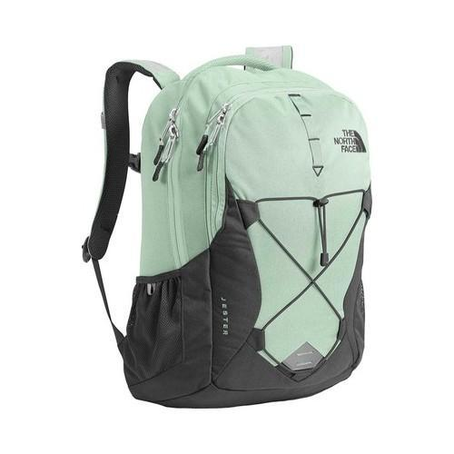 41d115157 Women's The North Face Jester Backpack Subtle Green/Asphalt Grey