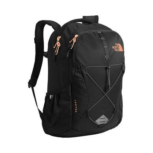 43cb4160e Women's The North Face Jester Backpack TNF Black Heather/Burnt Coral  Metallic