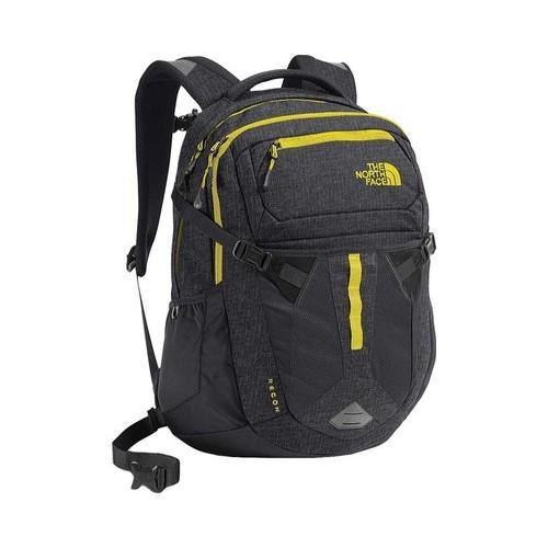 c6337ff97 The North Face Recon Backpack Asphalt Grey White Heather/Blazing Yellow