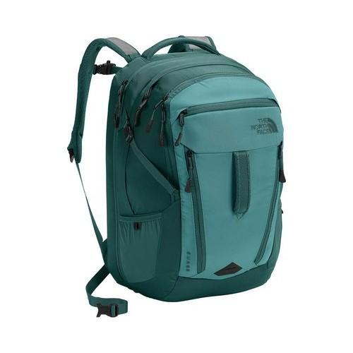 05d0244c8 Shop Women's The North Face Surge Backpack Bristol Blue/Jasper Green - Free  Shipping Today - Overstock - 20577821