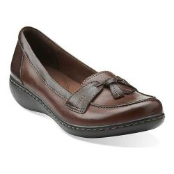 Women's Clarks Ashland Bubble Brown Leather