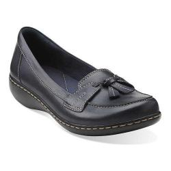 Women's Clarks Ashland Bubble Navy Leather (More options available)