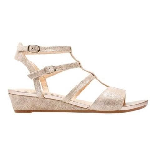 31351ce95 Shop Women s Clarks Parram Spice Gladiator Sandal Gold Suede - Free  Shipping Today - Overstock - 20590167