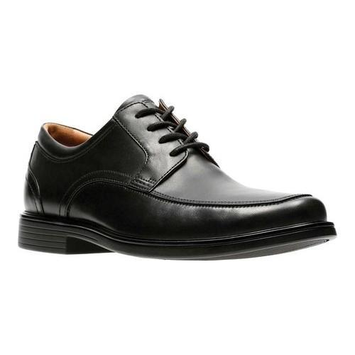 Black leather 'Un Aldric Park' Derby shoes clearance low price fee shipping free shipping outlet locations QWZJrxerG