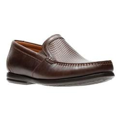 Men's Clarks Un Gala Free Slip-On Loafer Brown Leather