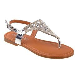 Girls' Kensie Girl KG79237M Thong Sandal Silver