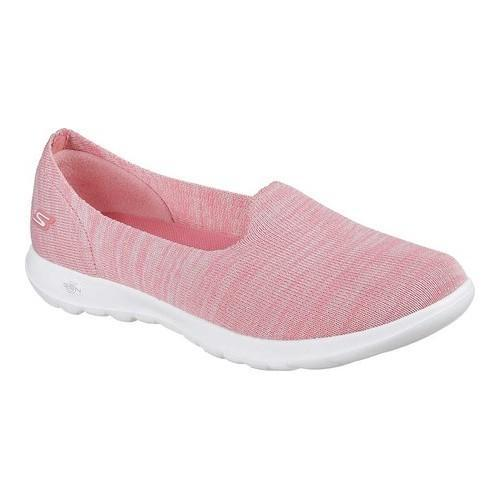 skechers slip on pink