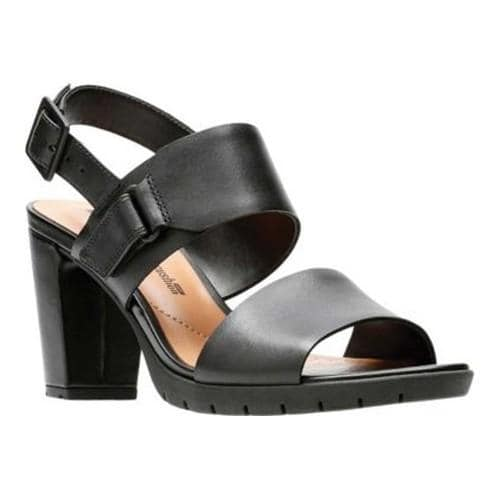 Clarks KURTLEY SHINE - Sandals - black PWPiC1TH
