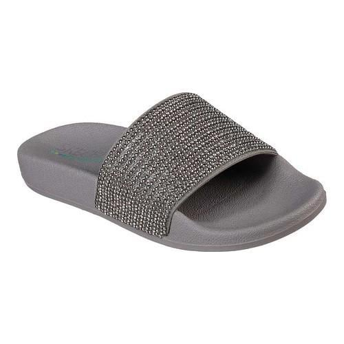 3421713fee16dc Shop Women s Skechers Pop Ups Halo Power Slide Sandal Pewter - Free  Shipping On Orders Over  45 - Overstock - 20592497