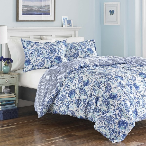 Shop Poppy Amp Fritz Brooke Blue And White Paisley Cotton