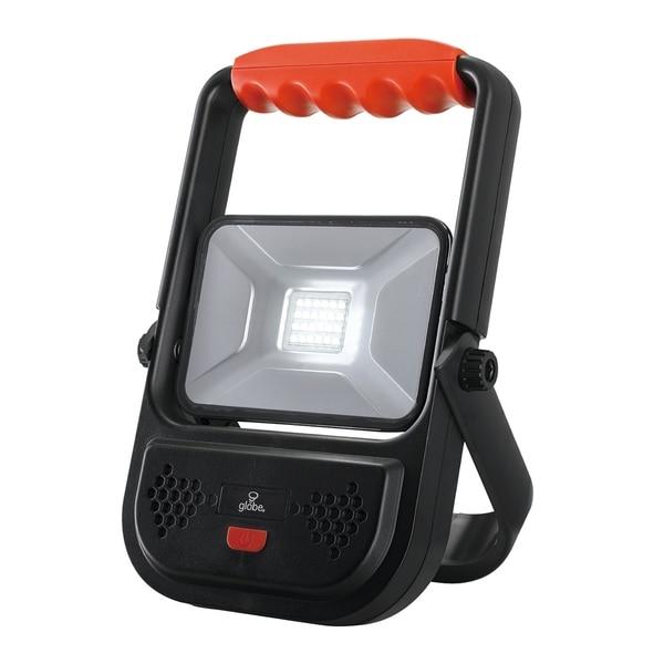 10-Watt Black 1000 Lumen Integrated LED Rechargeable Work Light. Opens flyout.