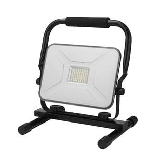 30-Watt Black 2100 Lumen Integrated LED Plug-In Work Light