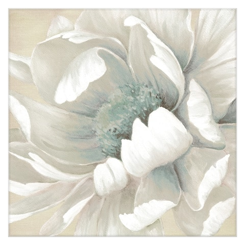 Winter Bloom Flowers II by Carol Robinson Wrapped Canvas Painting Art Print