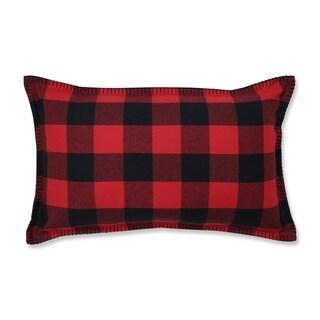 Pillow Perfect Buffalo Plaid Lumbar Pillow